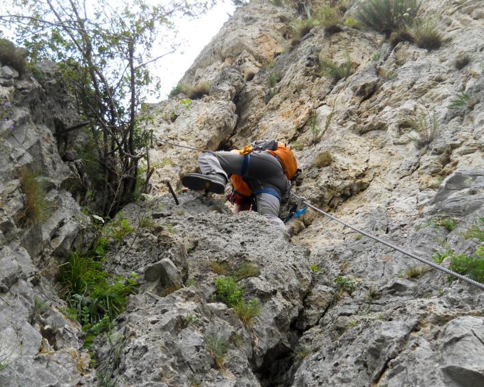 Pittentaler Klettersteig : Pittentalersteig